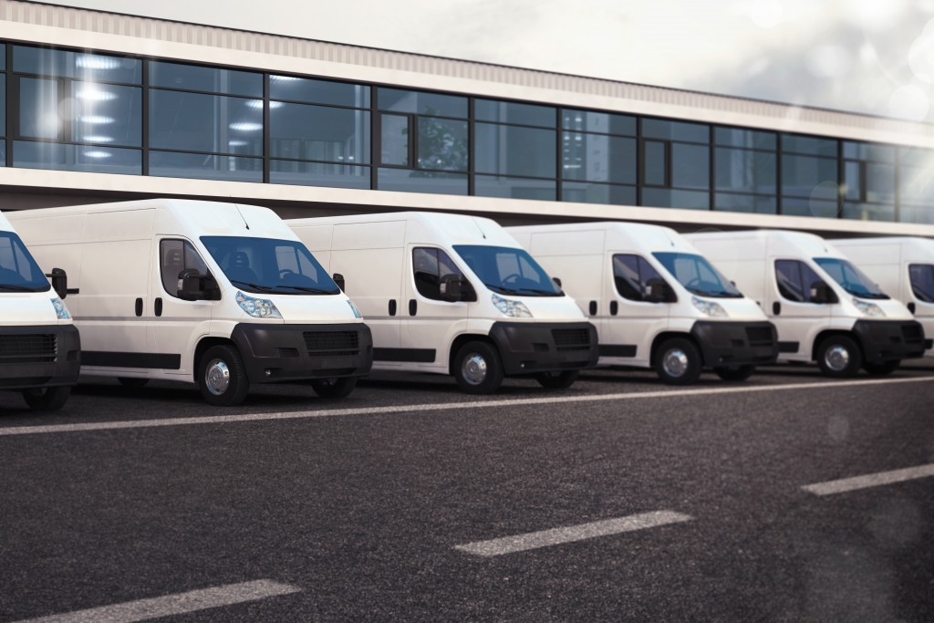parked vans
